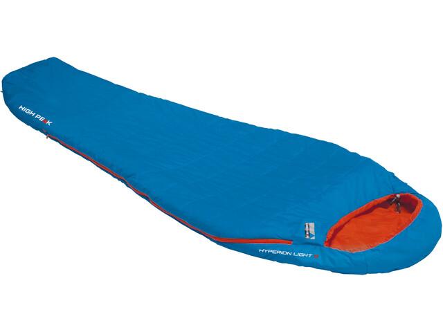 High Peak Hyperion Light 8 - Sac de couchage - orange/bleu